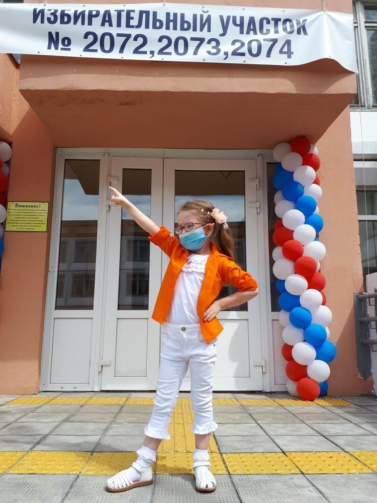 Пятилетняя Клеопатра - девочка, которую москвичка Галина Шубенина родила в 60 лет.