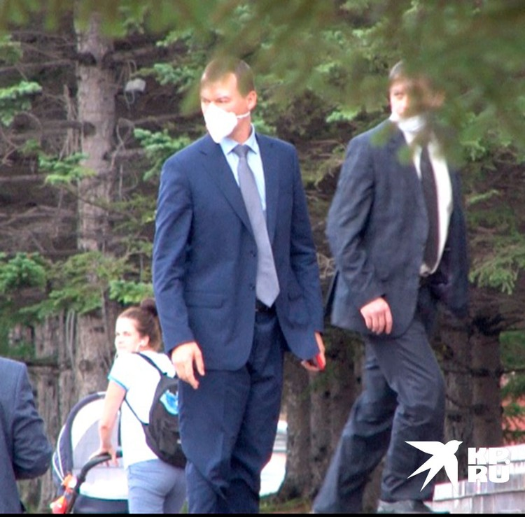 Врио губернатора Хабаровского Михаил Дегтярев прибыл в Хабаровск.