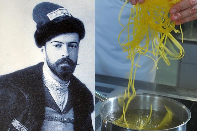Разварные голуби с лапшой из белой муки были любимой пищей Николая II. Фото царя - пересъемка.