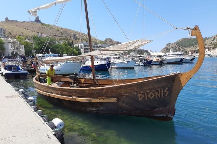 В этом году туристы снова могут совершить морские прогулке на «Дионисе»