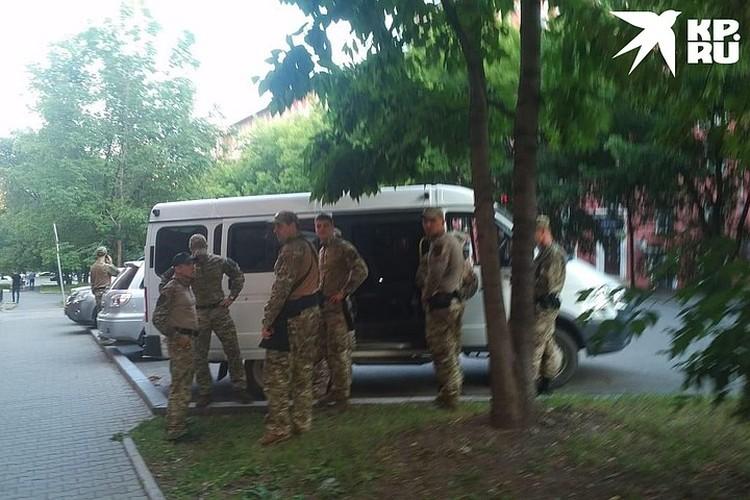 Припарковались гости из солнечного Ростова