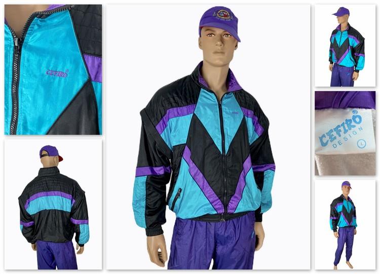 Винтажная олимпийка Cefiro из коллекции Дмитрия продается за 4000 рублей.