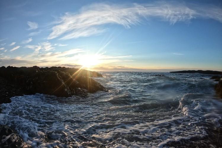 Мечта - искупаться в Баренцевом море - сбылась в полной мере. Фото: Иван Ярочкин