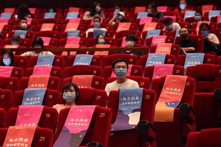 Заработали кинотеатры в Китае