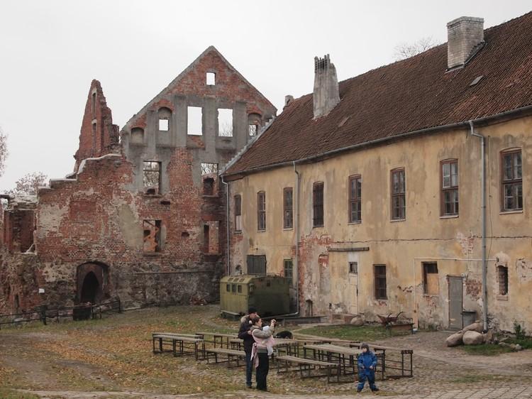 Замок Инстербург.