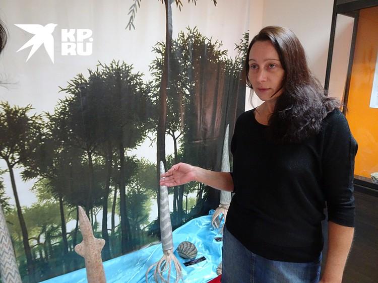 Наталья Спицына - заведующая филиалом музея и хозяйка Сокольей горы