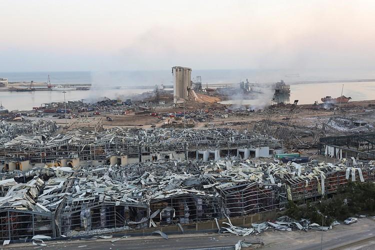 Крупная катастрофа в столице Ливана Бейруте стала главной мировой новость