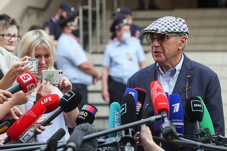 Если Добровинский хотел вывести противника из себя, ему это удалось. Фото: Гавриил Григоров/ТАСС