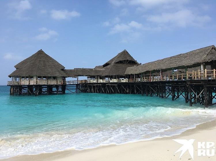 На севере самый популярный пляж Нунгви. Потому что там практически не чувствуются приливы и отливы.