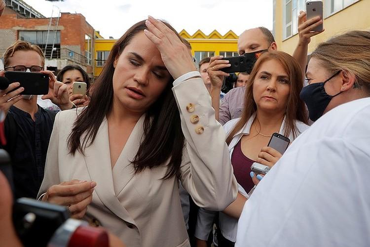 Светлана Тихановская - кандидат в президенты Белоруссии