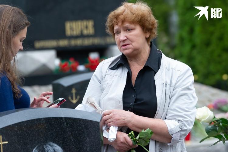 Сын Надежды Коровяковой Андрей погиб в первый свой морской поход