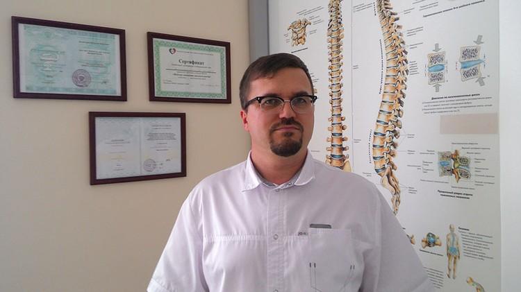 Вячеслав Комиссаров, мануальный терапевт, рефлексотерапевт, специалист по остеопатии, апитерапии и гирудотерапии. Фото: личный архив