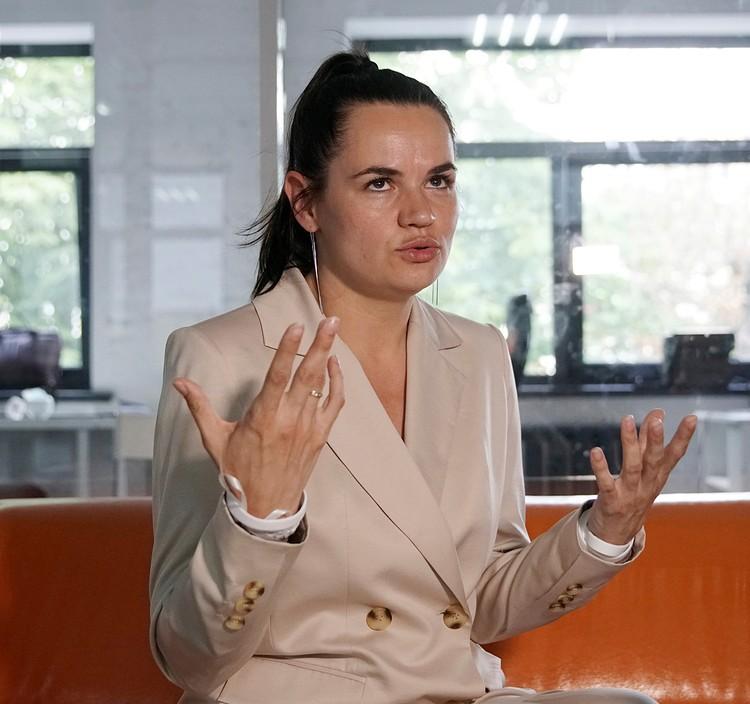Тихановская объявила о создании совета, цель которого — обеспечить трансфер власти