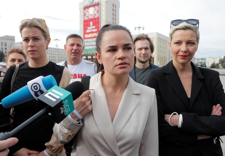 Тихановская - лидер массовых протестов