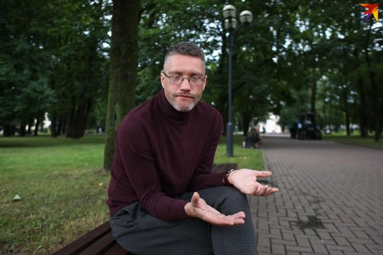 Пока коллеги Павла записывали видеообращения о насилии и давлении, Харланчук был на Окрестина