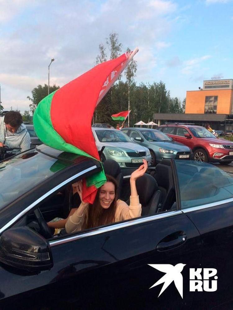 Пробег за «Мирную Беларусь!»