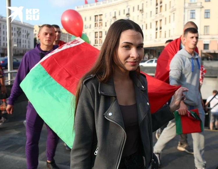 Среди сторонников Лукашенко есть и молодежь