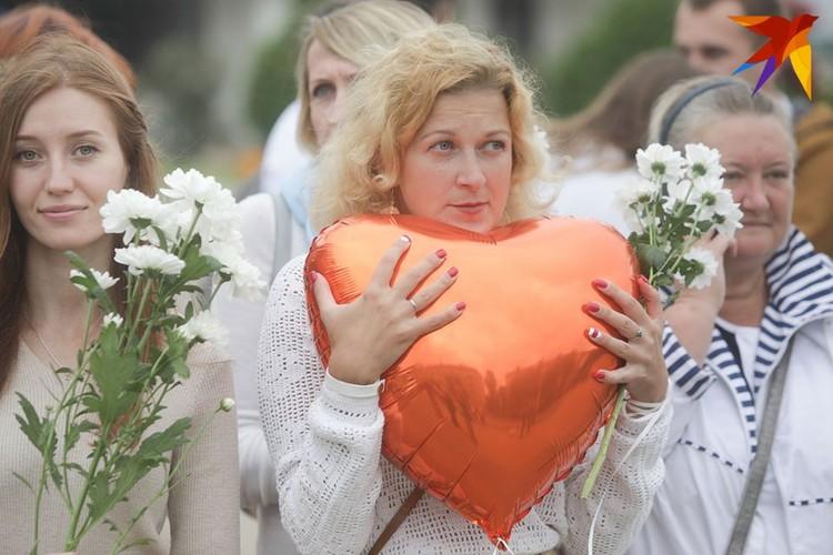 22 августа в Минске продолжаются мирные акции протеста.