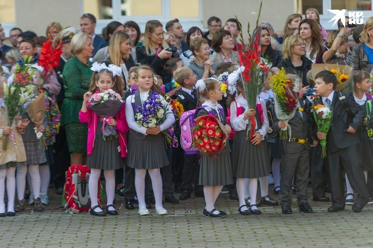 Школьные линейки в Санкт-Петербурге 1 сентября 2020 года будут только для первоклассников и учеников 11 классов