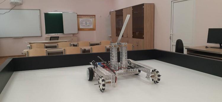 Роботокласс оборудован по последнему слову техники