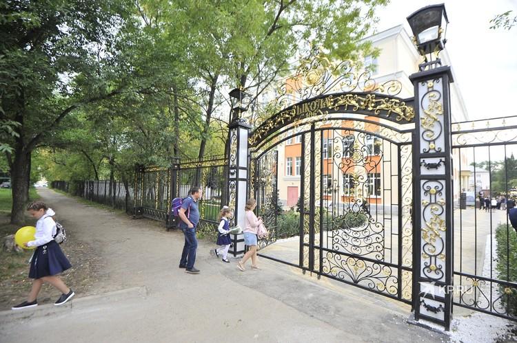 Кованные ворота появились в этом году.