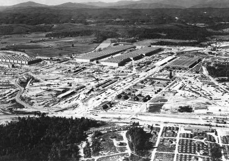 Засекреченный атомный центр Ок-Ридж.