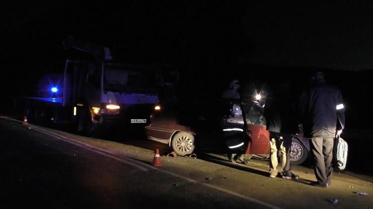 От полученных травм женщина скончалась на месте аварии. Фото: УГИБДД по Свердловской области