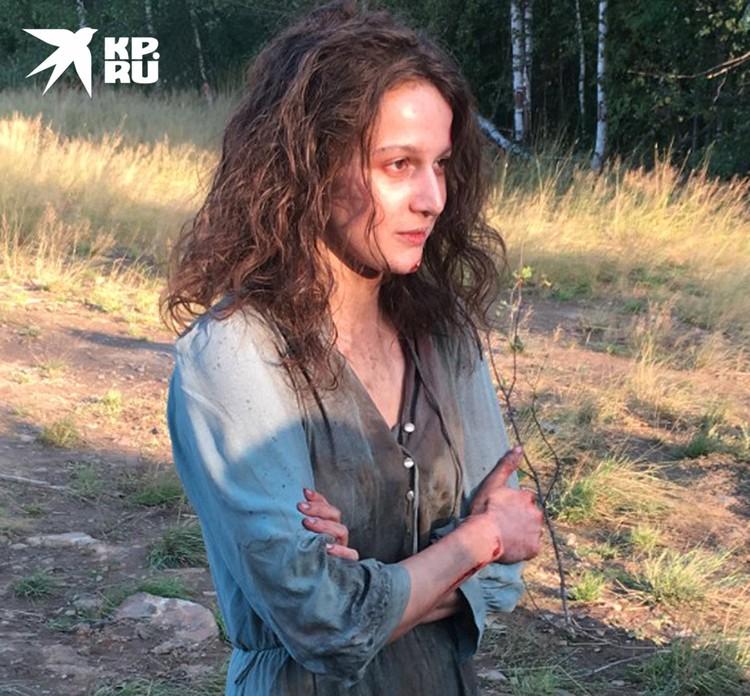 Роль Савицкой исполнила актриса Надежда Калеганова.