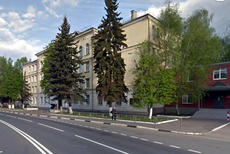 Вид на старое здание СВУ в Твери. Фото: скриншот/www.google.ru/maps