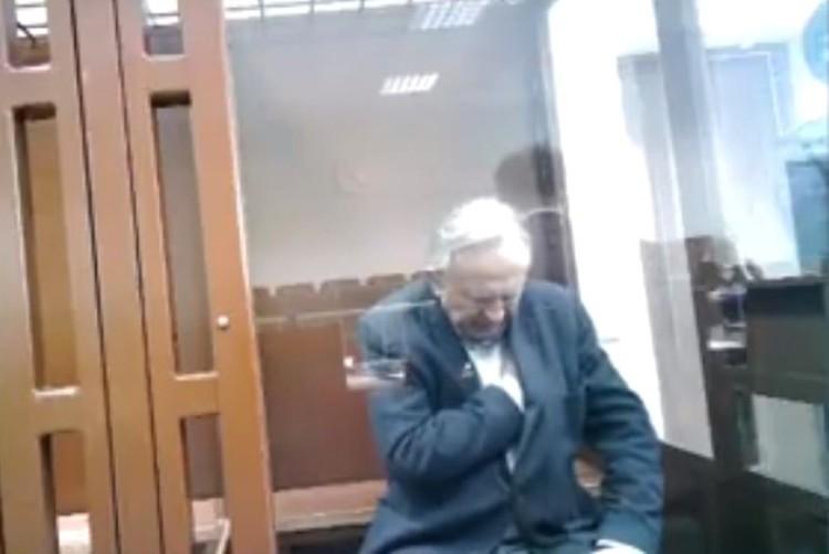 Доцент пытался скрыть зевоту Фото: объединенная пресс-служба судов Санкт-Петербурга