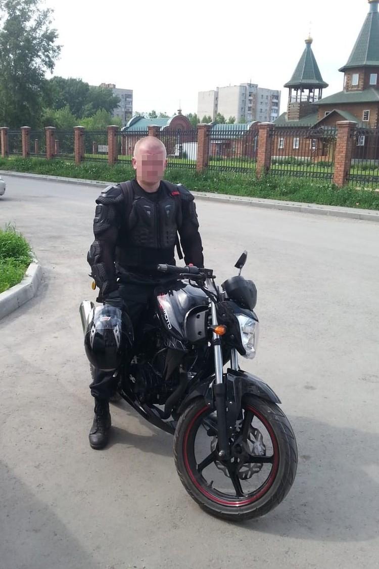 У Алексея есть еще одна слабость — мотоциклы. Фото: предоставлено героем публикации.