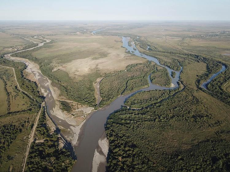 Долина реки Терек.