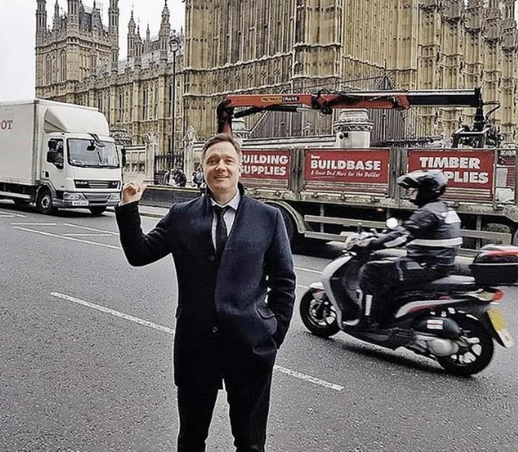 Десять лет Капчук строил бизнес в Лондоне. Фото: личная страница бизнесмена в Facebook
