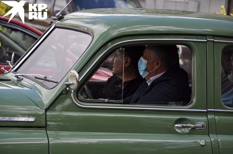 Одно из увлечений губернатора- ретроавтомобили.