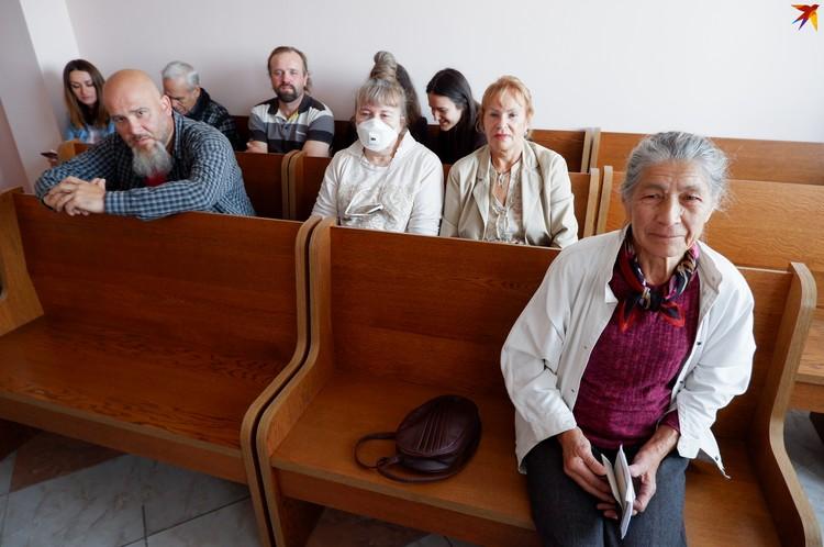 Пенсионерка сказала, что нигде не может выразить позицию, кроме как на митинге