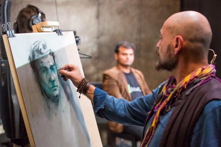 Не упустите момент увидеть, как рождается искусство. Фото предоставлено Академией Art Life.