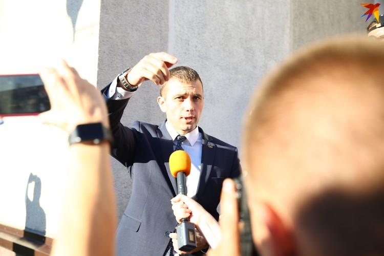 Дмитрий Петруша - глава Центрального района Минска