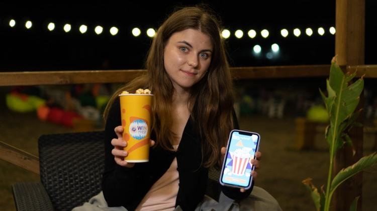 Абоненты Win mobile получили бесплатный попкорн, установив на телефон специальное приложение.