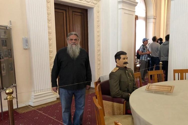 Бывая в Крыму, Шумский всегда первым делом посещал Ливадийский дворец Фото: shumskiy.su