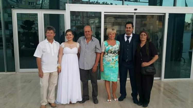 Родители Насти приехали на первую свадьбу