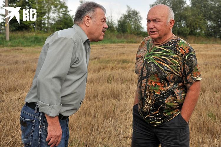 Александр Гамов в гостях у Юрия Лужкова