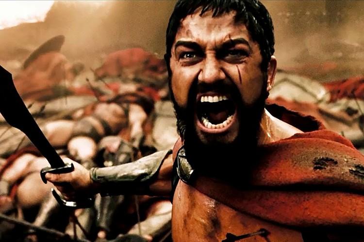 """Царь Леонид. Фото: Кадр из фильма """"300 спартанцев"""""""