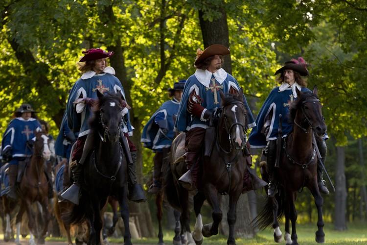"Три мушкетера. Фото: кадр из фильма ""Д'Артаньян и три мушкетера"""
