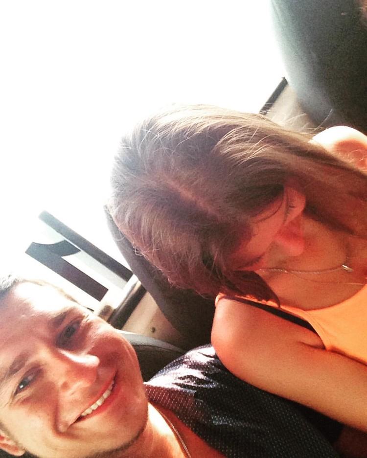 За полтора года в СИЗО блогер ни разу не виделся с женой. Фото: страница Данила Каличонка в соцсети