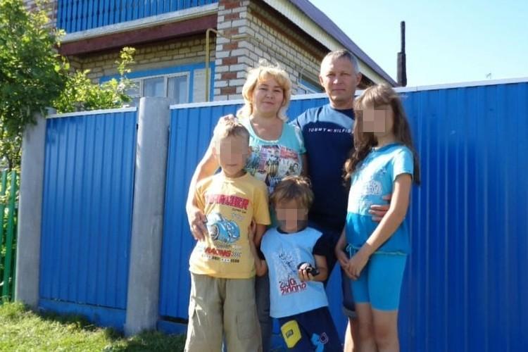 Теперь трое детей Натальи остались без матери. Фото: предоставлено Ильшатом Хафизовым
