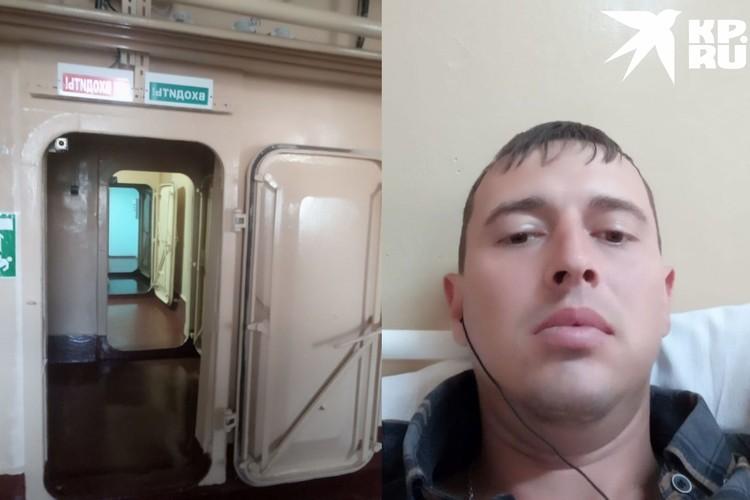 Владимир говорит, что ему понравилось жить за закрытыми дверями «Вектора»: кормят как в санатории, развлекают, еще и деньги за это платят. Фото: личный архив.