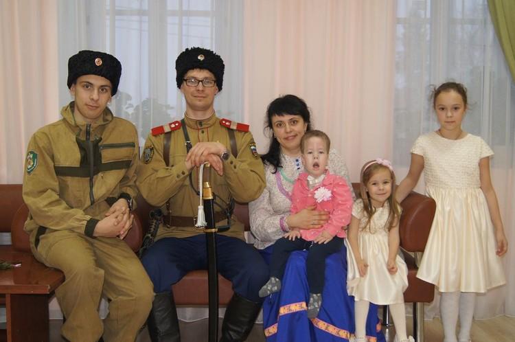 Семья Кобелевых. Фото: личный архив героя.