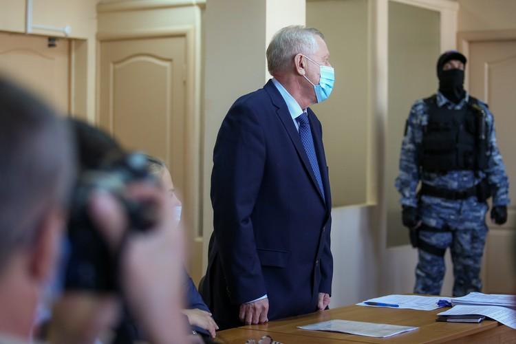 Тефтелев признал вину в полном объеме