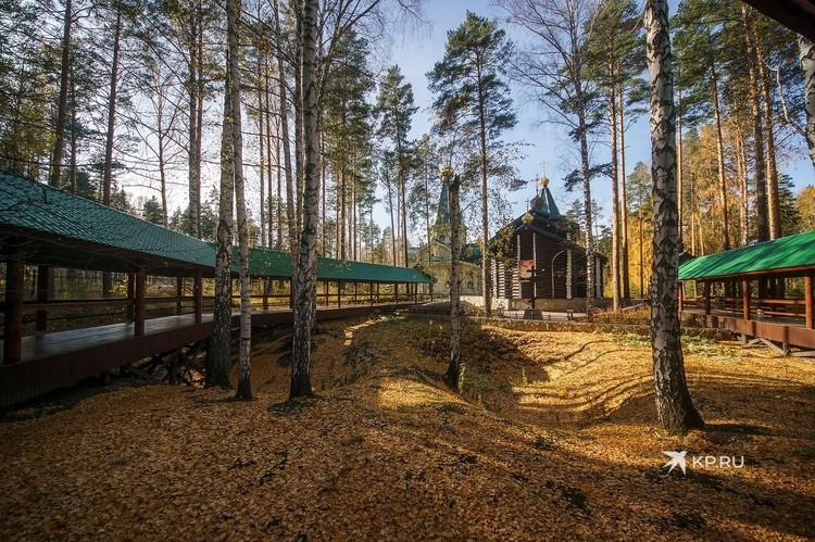 Так сейчас выглядит место на Ганиной яме, где 102 года назад большевики предположительно попытались сокрыть останки Николая II и его близких.