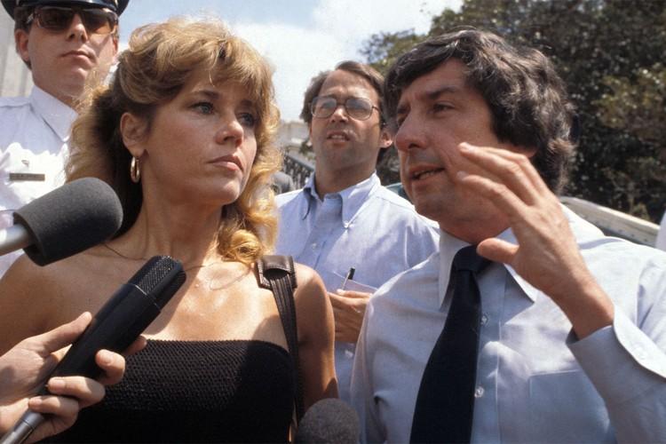 Со вторым мужем Томом Хайденом, 1979 г.